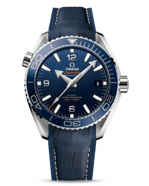 AAA Replica Omega Seamaster Planet Ocean 600M 43.5 Master Chronometer Blue Dial Watch 215.33.44.21.03.001