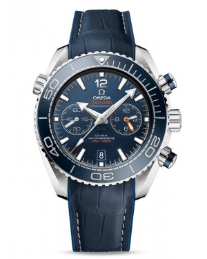 AAA Replica Omega Seamaster Planet Ocean 600M Co-Axial Master Chronograph Blue Watch 215.33.46.51.03.001