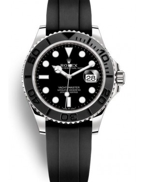AAA Replica Rolex Yacht-Master 42 White Gold Watch 226659-0002