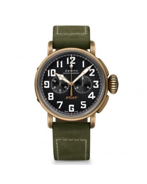 AAA Replica Zenith Pilot Heritage Extra Special Chronograph Watch 29.2430.4069/21.C800