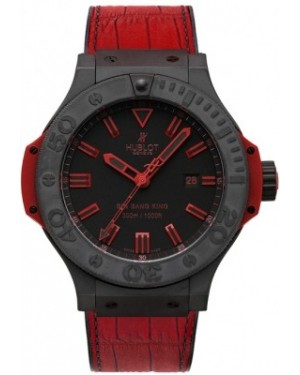 AAA Replica Hublot Big Bang King All Black Red Mens Watch 322.ci.1130.gr.abr10