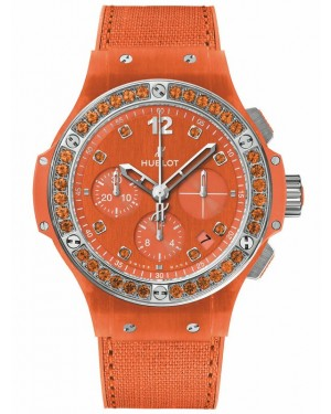 AAA Replica Hublot Big Bang Linen Orange Watch 341.XO.2770.NR.1206