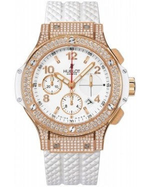 AAA Replica Hublot Big Bang Gold White Ladies Watch 341.pe.2010.rw.1704