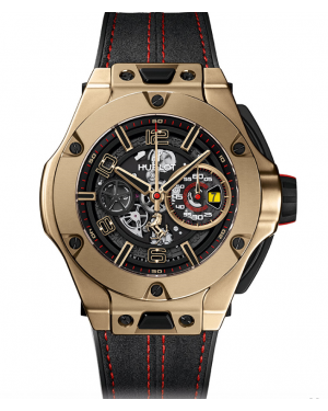 AAA Replica Hublot Big Bang Ferrari Unico Magic Gold Watch 402.MX.0138.WR