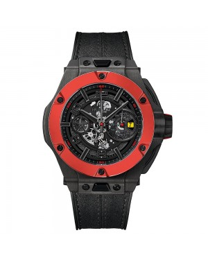AAA Replica Hublot Big Bang Ferrari Unico Carbon Red Ceramic Watch 402.QF.0110.WR