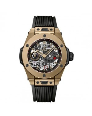 AAA Replica Hublot Big Bang Meca-10 Full Magic Gold 45MM Watch 414.MX.1138.RX