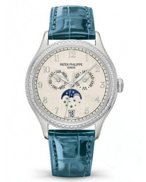 AAA Replica Patek Philippe Complications White Gold Ladies Watch 4947G-010