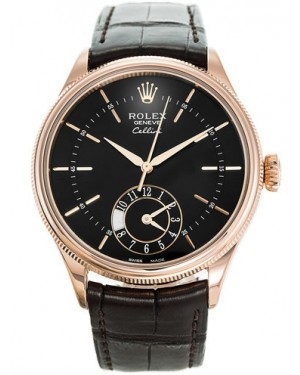 AAA Replica Rolex Cellini Dual Time 39mm Mens Watch 50525-0010