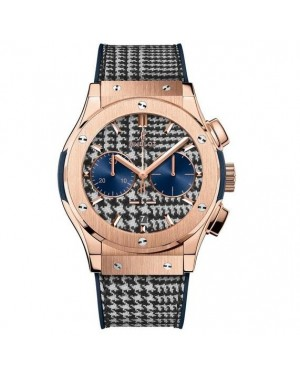 """AAA Replica Hublot Classic Fusion Chronograph Italia Independent """"Prince de Galles"""" Watch 521.OX.2704.NR.ITI17"""