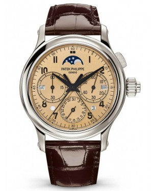 AAA Replica Patek Philippe Grand Complications Platinum Mens Watch 5372P-010