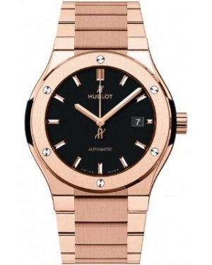 AAA Replica Hublot Classic Fusion Automatic Gold Mens Watch 548.ox.1180.ox