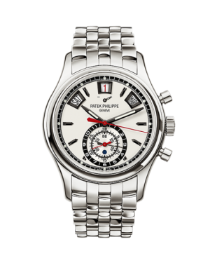 AAA Replica Patek Philippe Annual Calendar Chronograph Stainless Steel Watch 5960/1A-001
