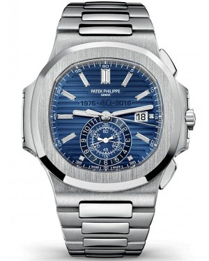 AAA Replica Patek Philippe Nautilus Chronograph 40th Anniversary Limited Edition Watch 5976/1G