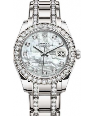 AAA Replica Rolex Pearlmaster 39mm Ladies Watch 86289-0002
