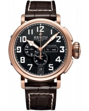 AAA Replica Zenith Pilot Montre d'Aeronef Type 20 Annual Calendar Mens Watch 87.2430.4054/21.C721