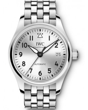 AAA Replica IWC Pilot Automatic Silver Dial Stainless Steel Watch IW324006