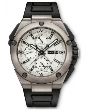 AAA Replica IWC Ingenieur Double Chronograph 45mm Mens Watch IW386501
