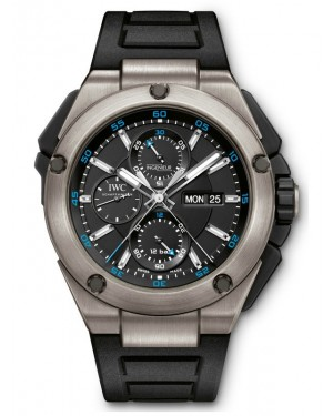 AAA Replica IWC Ingenieur Double Chronograph 45mm Mens Watch IW386503