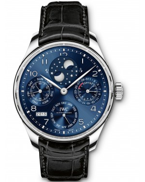 AAA Replica IWC Portugieser Perpetual Calendar Perpetual Double Moonphase Mens Watch IW503401