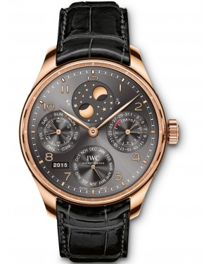 AAA Replica IWC Portugieser Perpetual Calendar Perpetual Double Moonphase Mens Watch IW503404