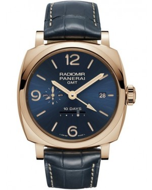 AAA Replica Panerai Radiomir 1940 10 Days GMT Automatic Oro Rosso Mens Watch PAM00659