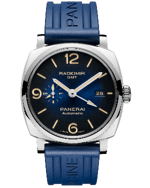 AAA Replica Panerai Radiomir 1940 3 Days Automatic GMT Acciaio 45mm Mens Watch PAM00945