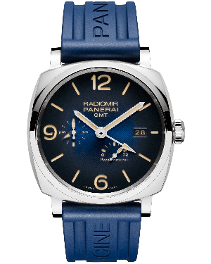 AAA Replica Panerai Radiomir 1940 3 Days GMT Power Reserve Automatic Acciaio 45mm Mens Watch PAM00946