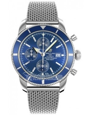 AAA Replica Breitling Superocean Heritage Chronograph Mens Watch a1332016/c758-ss