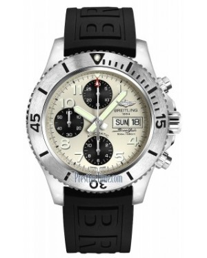 AAA Replica Breitling Superocean Chronograph Steelfish 44 Mens Watch a13341c3/g782-1pro3t