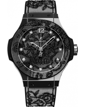 AAA Replica Hublot Big Bang Broderie Skull Steel Watch 343.SS.6570.NR.BSK16