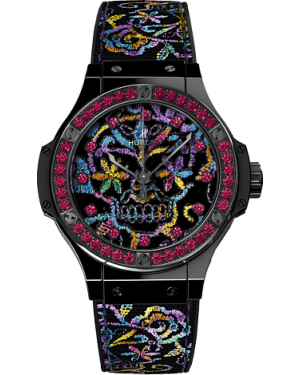 AAA Replica Hublot Big Bang Broderie Sugar Skull Ceramic Watch 343.CS.6599.NR.1213