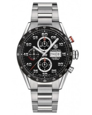 AAA Replica Tag Heuer Carrera Day Date Automatic Chronograph 43mm Mens Watch cv2a1r.ba0799