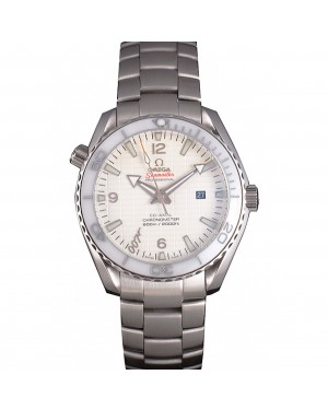 Omega James Bond Skyfall Watch with White Dial and White Bezel om231 621383