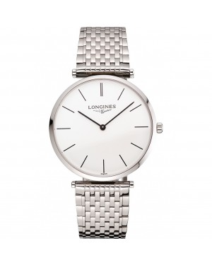 Swiss Longines Grande Classique White Dial Stainless Steel Case And Bracelet