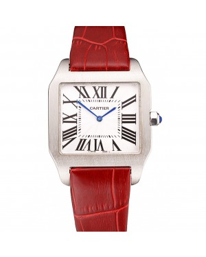Cartier Santos 100 Polished Stainless Steel Bezel 621935