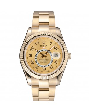 Rolex Sky Dweller Oyster Perpetual Special Edition 2012 Yellow Gold 80243