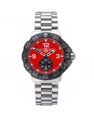 Tag Heuer Formula One Grande Date Red Dial Stainless Steel Bracelet 622286