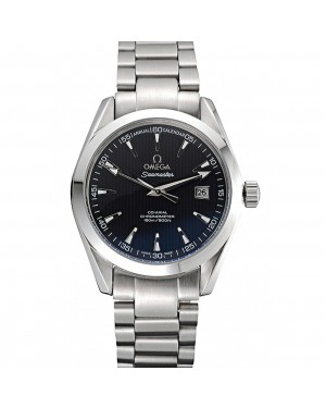 Omega Seamaster Black Dial Stainless Steel Band 622165