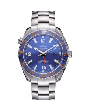 Swiss Omega Seamaster Stainless Steel Blue Dial 622020