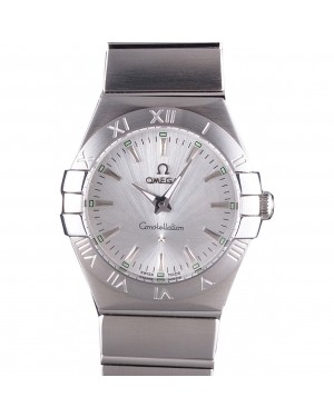 Omega Constellation Grey Dial Stainless Steel Band 621458