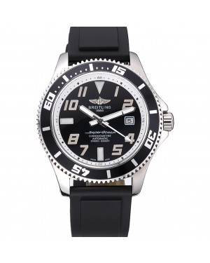 Breitling Superocean 42 Abyss White Accents Rubber Bracelet 622507