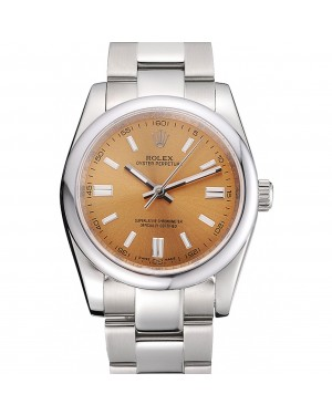 Rolex Oyster Perpetual DateJust Stainless Steel Case Champagne Dial Stainless Steel Bracelet 622639