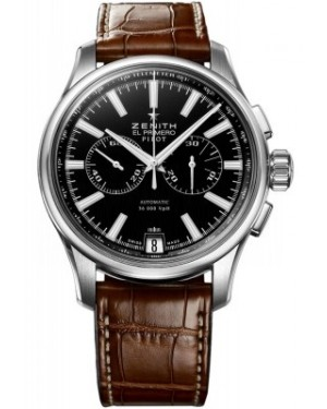 AAA Replica Zenith Pilot Chronograph Mens Watch 03.2117.4002/23.c704