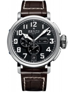 AAA Replica Zenith Pilot Montre d'Aeronef Type 20 Annual Calendar Mens Watch 03.2430.4054/21.C721