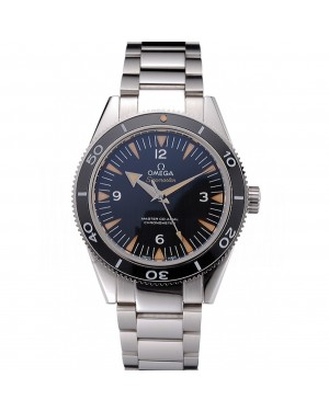 Swiss Omega Seamaster Black Dial Stainless Steel Case And Bracelet 622843