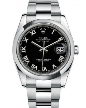 AAA Replica Rolex Datejust 36mm Stainless Steel Midsize Watch 116200-0061