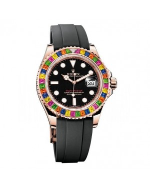 AAA Replica Rolex Oyster Perpetual Yacht-Master 40 Diamond Automatic Watch 116695 SATS
