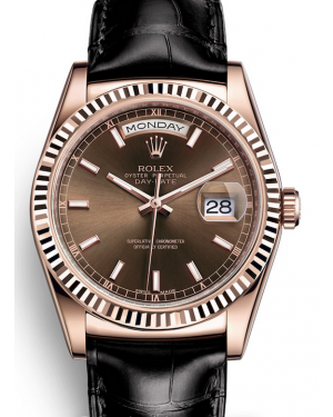 AAA Replica Rolex Day-Date 36mm Automatic Mens Watch 118135-0086