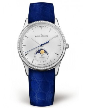 AAA Replica Jaeger-LeCoultre Master Ultra Thin Moon Stainless Steel Watch 1258401