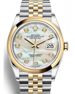 AAA Replica Rolex Datejust 36mm Automatic Mens Watch 126203-0023